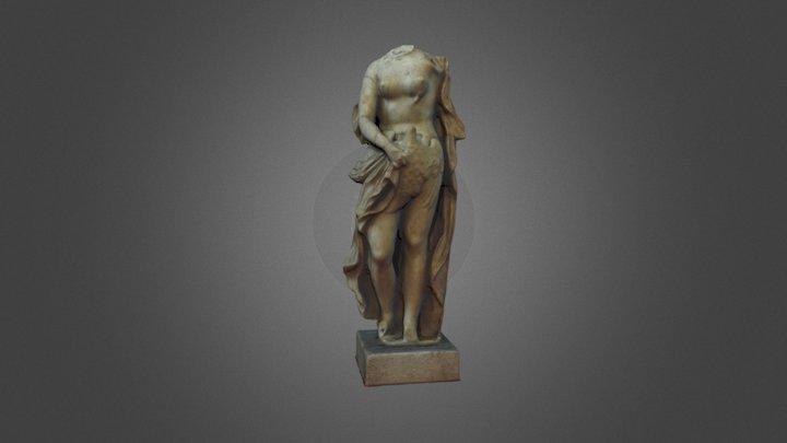 Statua di Leda con il cigno, I sec. d.C. 3D Model
