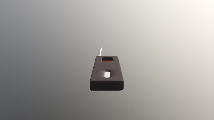 Basic Lighter 3D Model