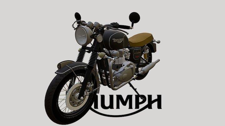 Motorbike - Triumph 2 3D Model