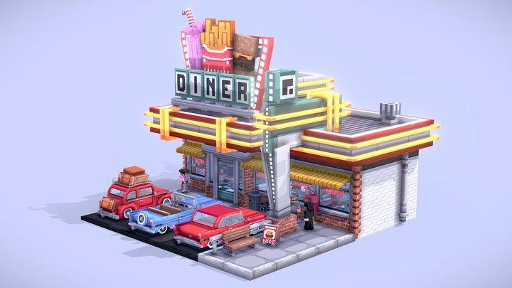 Diner 3D Model