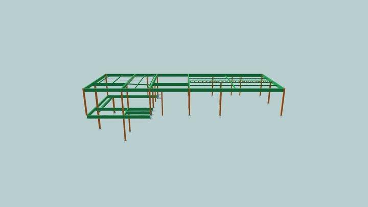 Rodrigo 3d Metálica 3D Model