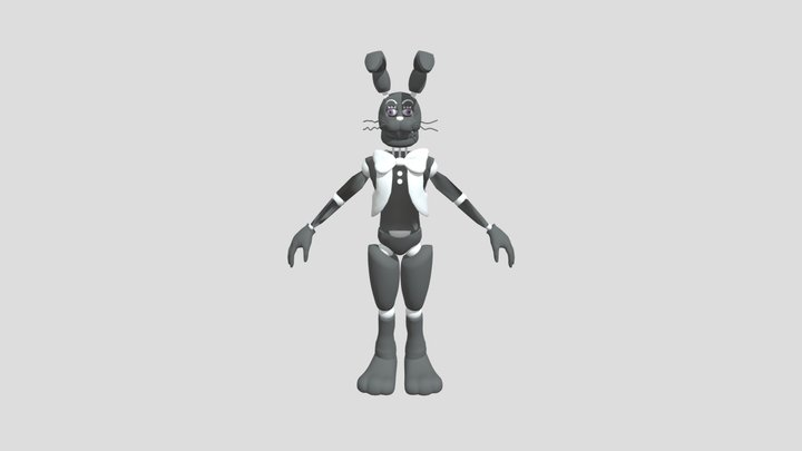 Stylaized Malhare FBX version 3D Model