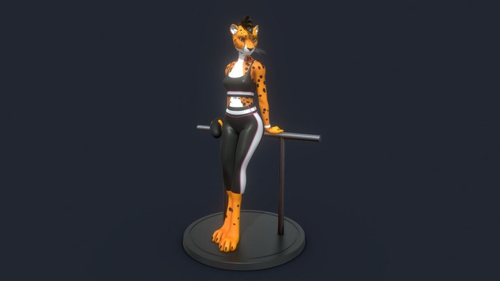 Cheetah ~ Patreon Avatar 3D Model