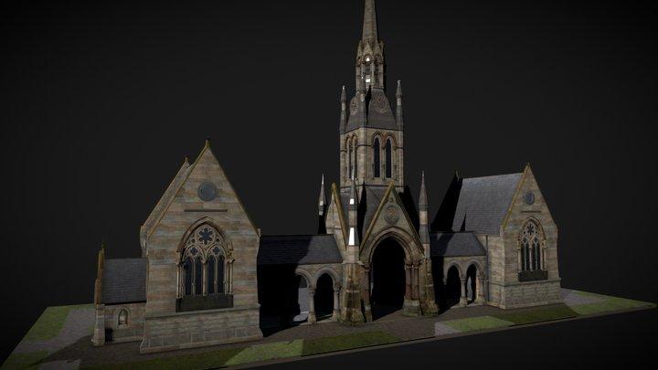 Cemetery Chapel, Bridlington 3D Model