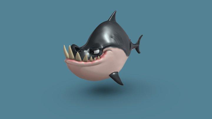 Sculpting Exercise : CG Cookie Shark 3D Model