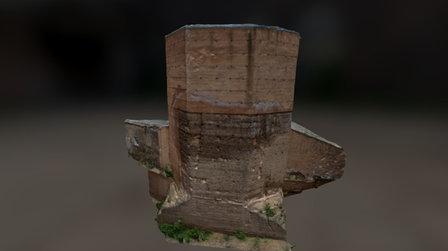 TORRE MOCHADA DE CACERES 3D Model