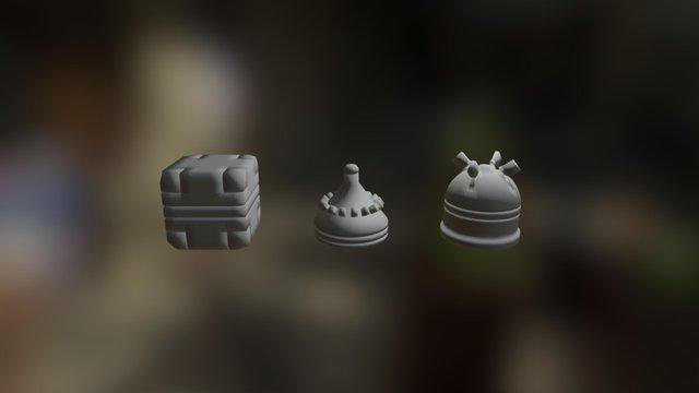 Primitives 3D Model