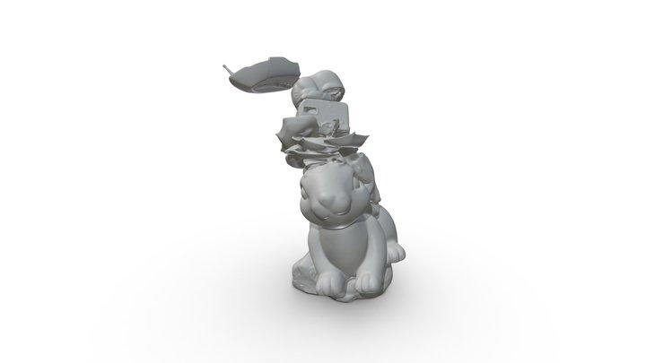 Helga Bu Skulptur 3 3D Model