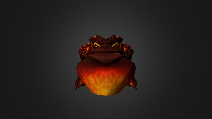 Inferno toad 3D Model