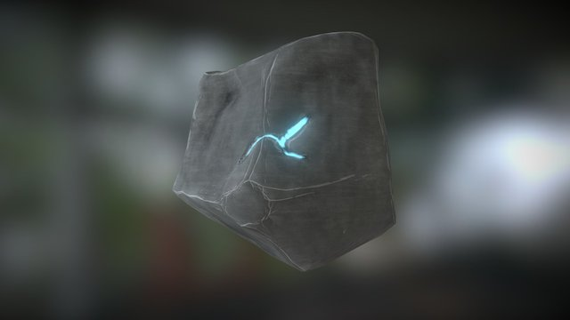 Space Rock of the Infinite 3D Model