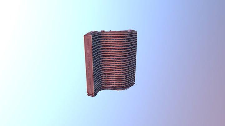 Copan Tower 3D Model