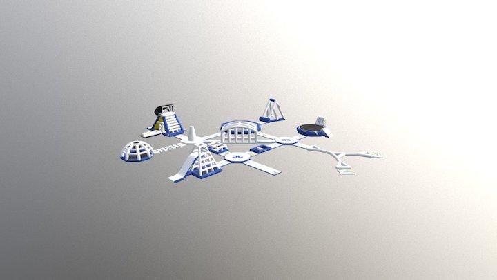 Aquapark 75 3D Model