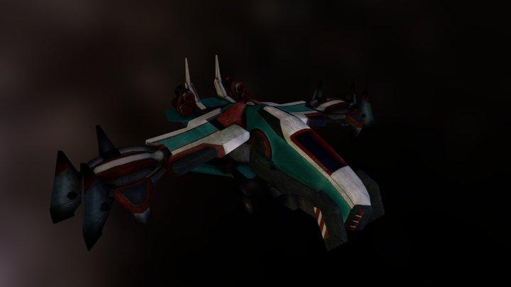 Redshift - Predator Class Ship 3D Model