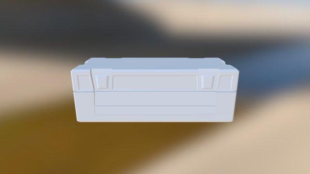 Crate Long1 3D Model