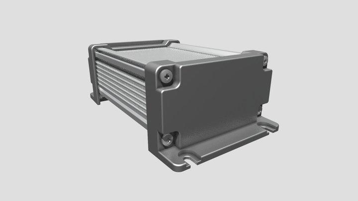 Takachi IP67aluminium heatsink enclosure AW11615 3D Model