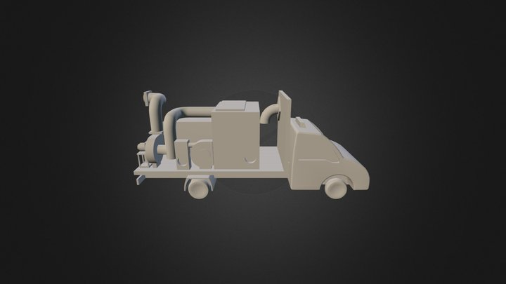 CAMION-SANS-BARRIERES 3D Model