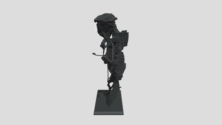 Segundo Premio Escultura 2020 3D Model