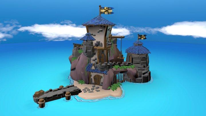 Pirate Prison 3D Model