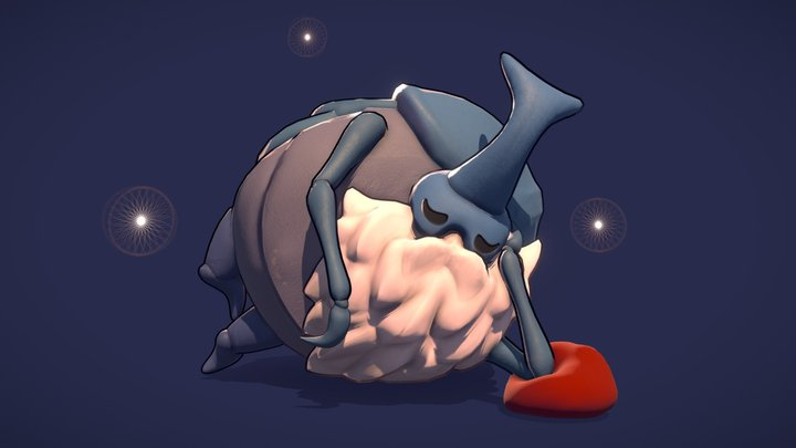Nailsmith: Hollow Knight 3D Model