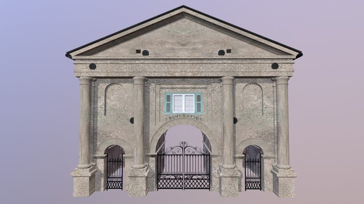 The Porters Lodge at the College of Charleston 3D Model