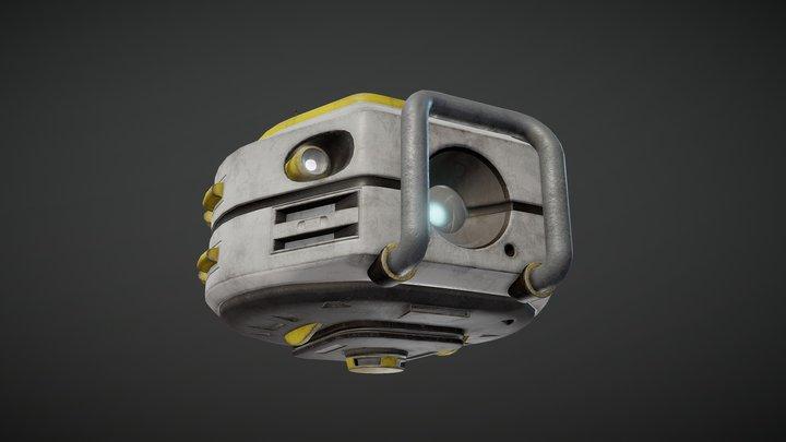 Scout drone 3D Model