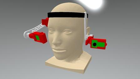 Modelo Headset ROBOTIFEST2015 3D Model