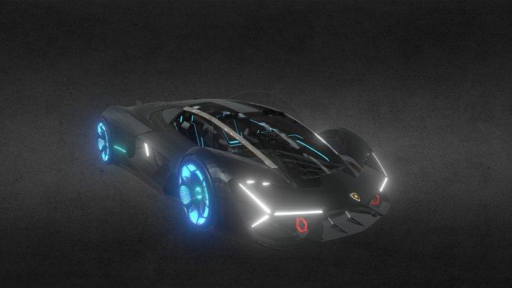 Lamborgini Terzo 3D Model
