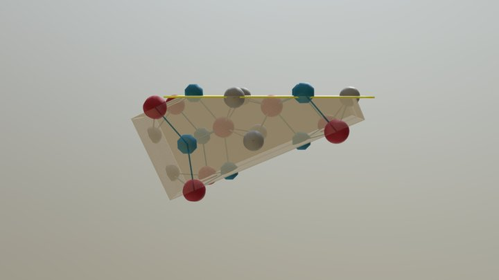 Chirality-v8-cut Above The Plane 3D Model