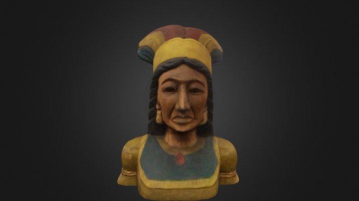 American Indian 3D Model