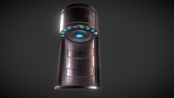 Teleporting Pod 3D Model