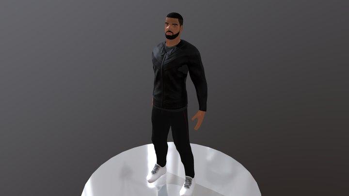 Drake 3D Model