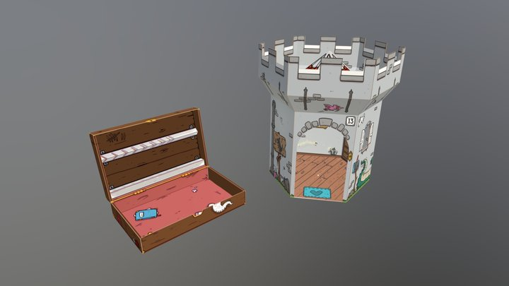 Family Fortress 3D Model