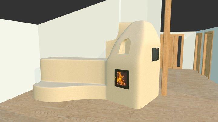 Kamna Spurný ver.01 3D Model