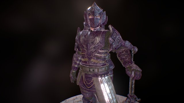 Addrynnyn - The Middle Earth Warrior 3D Model