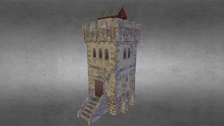 Fantasy watchtower 3D Model