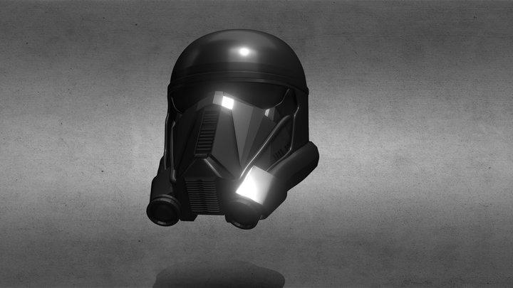 Death Trooper Helmet (Rogue One) 3D Model