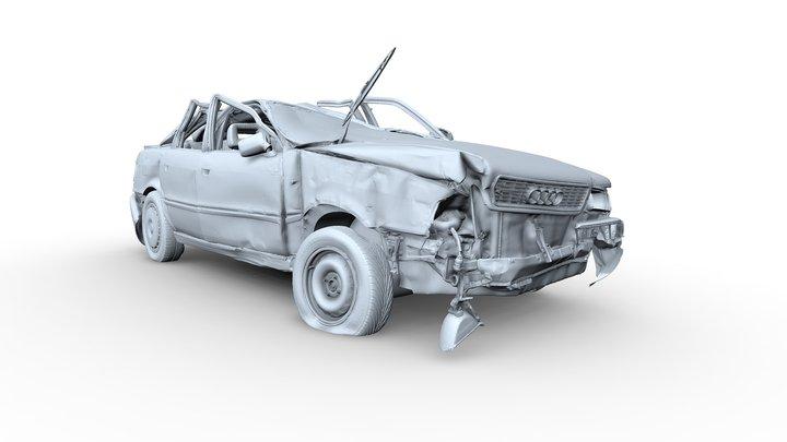 Audi 80 3D Model
