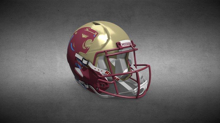 Michigan Panthers Helmet 3D Model