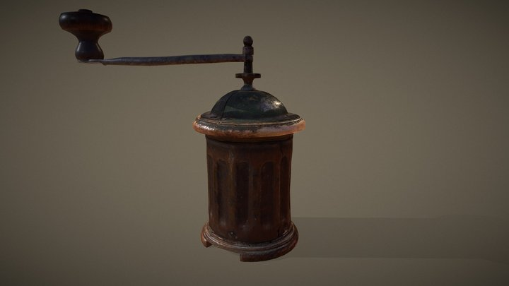 Pepper Mill (First half of 20th century) 3D Model