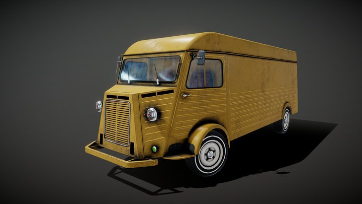 Citroen H 3D Model