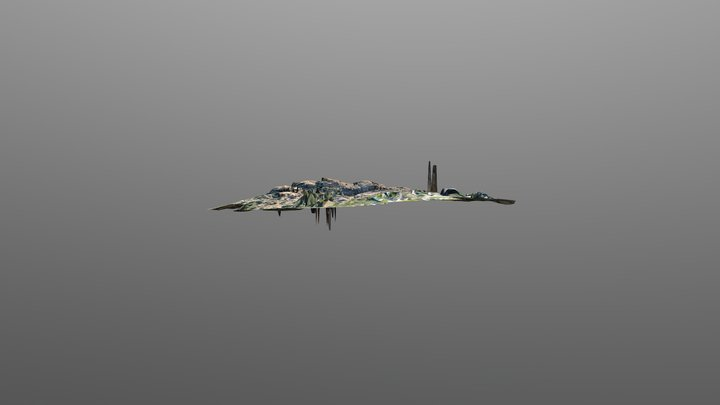Small Cliffs Test 3D Model