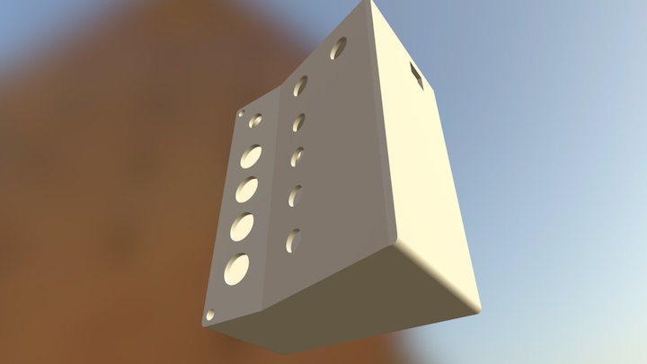 Remote Command 3D Model