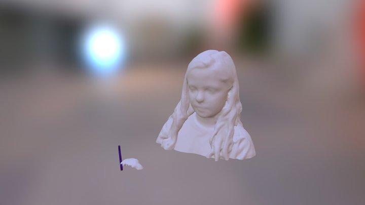 LetsBuildRobots - Leala Head 3D Model