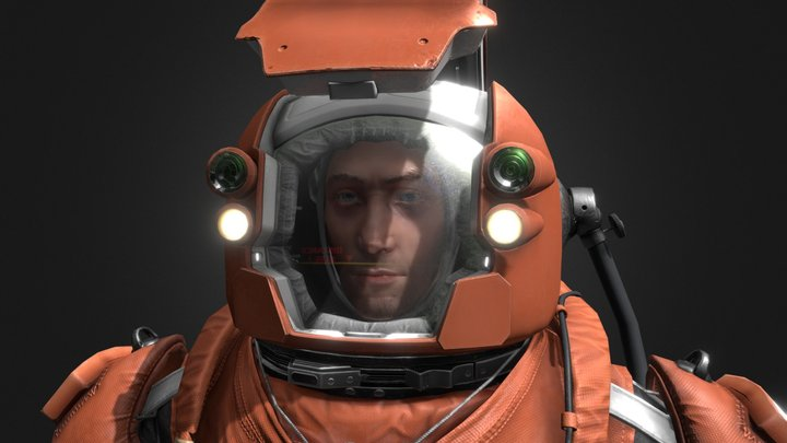 Planates Space Suit 3D Model