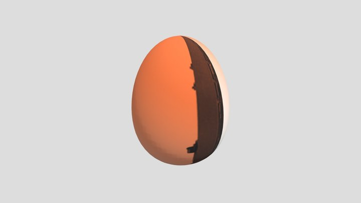 egghunt-orange 3D Model
