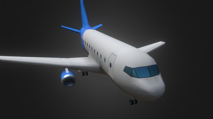 Airplane - Kodiak Set 3D Model