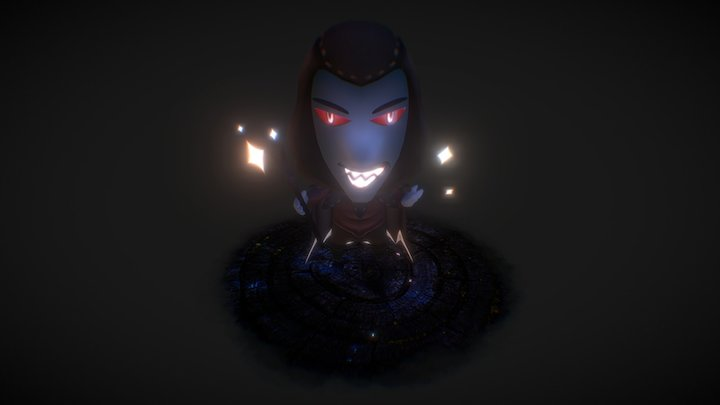 Dark:Puzzle & Fairy Village 3D Model