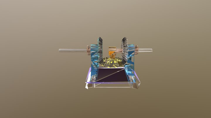 Bevel_Gears_Reducer 3D Model
