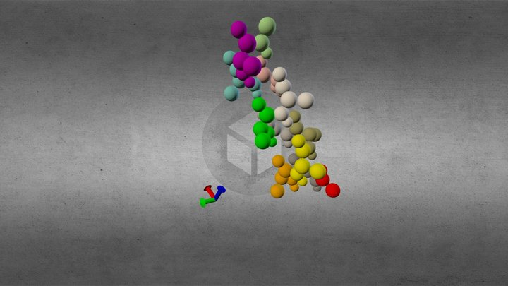 Proteina2 3D Model