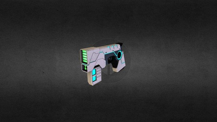 Torrent Pistol 3D Model